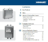 Adalet Electrical Enclosures & Accessories Product Catalog