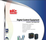 RKC Instrument Digital Control Equipment Product Information