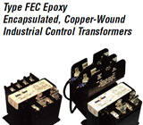 Federal-Pacific Epoxy Encapsulated Industrial Control Transformers
