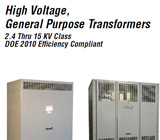 Federal-Pacific High Voltage, General Purpose Transformers