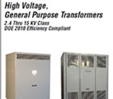 Federal Pacific High Voltage Transformers