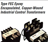 Federal Pacific Industrial Control Transformers