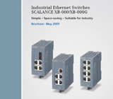 RKC Instrument SIMATIC Net Industrial Ethernet Switches (Scalance XB-000, XB-000G) - May 2009
